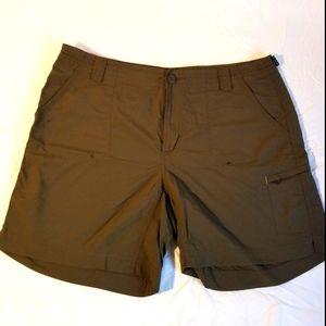 Columbia Titanium packable shorts green